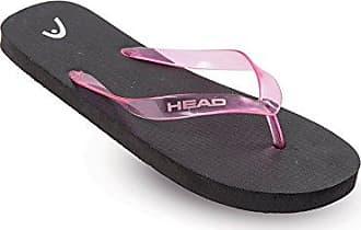 HEAD Unisex-Erwachsene Slipper Fun Flip-Flops, Schwarz/Orange (Bkor), 38 EU