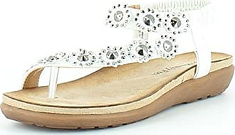 Heavenly Feet Lulu Sandalen Weiß EU39 Weiß