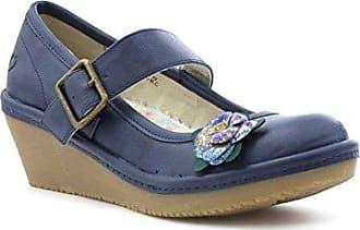 HEAVENLY FEET Sandale in der Marine für Frauen Größe 39 - Blau