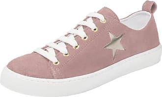 heine Heine Sneaker im Metalliclook, rosa, rosé/metallic