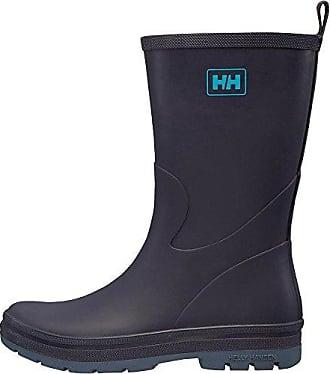 W Midsund 2, Botas de Agua para Mujer, Negro (Black/Natura(Shiny) 991), 37 EU Helly Hansen