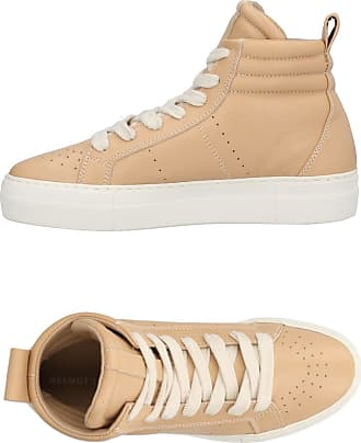 Helmut Lang Woman Leather Sneakers Light Brown Size 36 Helmut Lang