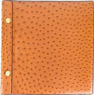 Hermès Hermes Rarity Gold Ostrich Leather Album 90s