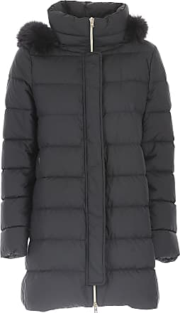 Down Jacket for Women, Puffer Ski Jacket, Dark Ink Blue, polyamide, 2017, 14 Herno