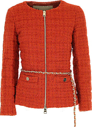 Jacket for Women On Sale, Orange, polyamide, 2017, 10 12 8 Herno