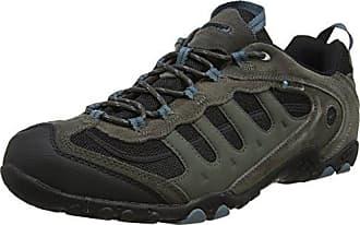 Badwater - Zapatillas de Deporte Hombre, Blanco (White/Evergreen/Purple 011), 42 EU Hi-Tec