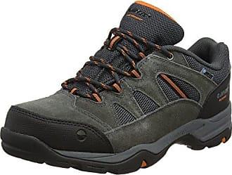 Hi-Tec , Scarpe da camminata ed escursionismo uomo Charcoal/Grey/Yellow 13 UK