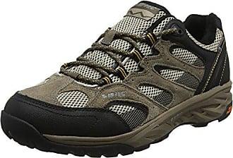 Hi-Tec Trail Ox Low I Waterproof, Chaussures de Randonnée Basses Homme, Noir (Black/Goblin Blue), 47 EU