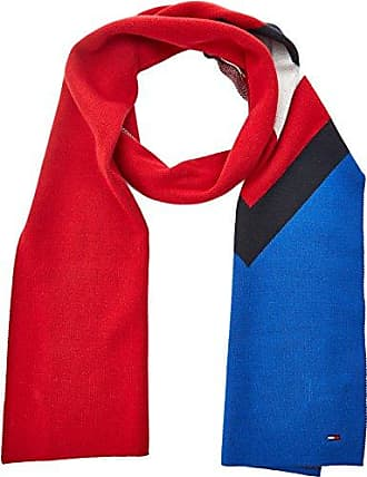 Womens Chunky Cable Scarf, Multicoloured (Corporate Clrs), One Size(Manufacturer Size:OS) Tommy Hilfiger
