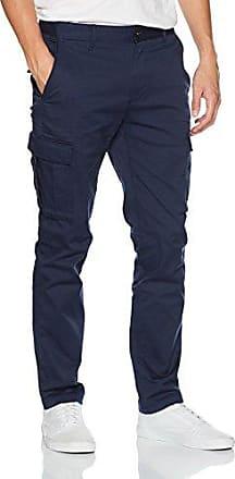 Hilfiger Denim Thdm Basic STR Strt Cargo Pant 29, Pantalones para Hombre, Azul (Black Iris 002), W38/L32 Tommy Jeans