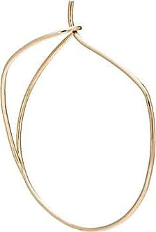 Hirotaka Floating 9-karat Gold Hoop Earring