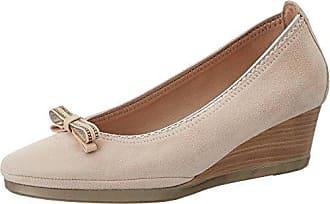 54.3.011, Zapatos de Tacón con Punta Cerrada para Mujer, Marrón (Noce), 38 EU Primafila