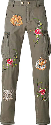 Embroidered Jogger with Lateral Stripes Frühling/Sommer HISTORY REPEATS