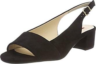 5-10 2104 0100, Zapatos de Talón Abierto para Mujer, Negro (Schwarz), 41.5 EU Högl