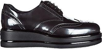 Hogan Damenschuhe Leder Damen Business Schuhe Schnürschuhe h323 derby Grau EU 36.5 HXW3230Z6901ONB401