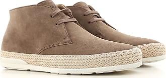 Sneakers for Men On Sale, Dark Mud, Suede leather, 2017, 7 Hogan