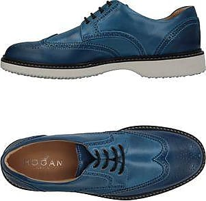 Sneakers for Men On Sale in Outlet, Navy Blue, Leather, 2017, 6 Hogan