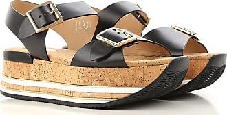 Sandales Pour Femmes, Blanc, Cuir, 2017, 36 36,5 35,5 35 37 38 39 38,5 39,5 40 Hogan