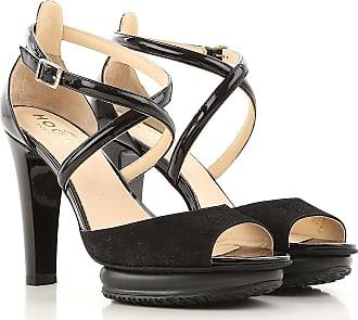 Sandals for Women On Sale, Black, Patent Leather, 2017, 3 3.5 7.5 Hogan