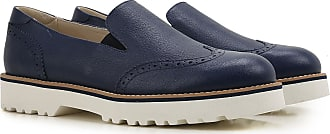 Sneakers for Men, Navy Blue, Leather, 2017, 5.5 6 Hogan