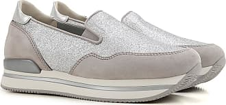 Sneakers for Women On Sale in Outlet, Silver, Patent, 2017, 2.5 4 Hogan