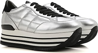 Sneakers for Women On Sale in Outlet, White, Patent Leather, 2017, 2.5 4.5 Hogan
