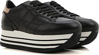 Chaussures Womens En Vente, Noir, Cuir Suède, 2017, 36 36,5 35,5 35 37 37,5 38 38,5 40 39,5 Hogan