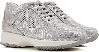 Sneakers for Women On Sale, Gold, Leather, 2017, 5.5 6 Hogan