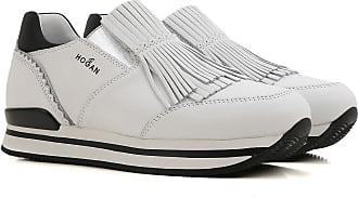 Sneaker für Damen, Tennisschuh, Turnschuh Günstig im Sale, Anthrazit, Leder, 2017, 35 35.5 36 37 38 39.5 Hogan