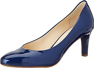 Högl »Glattleder« High-Heel-Pumps, blau, navy