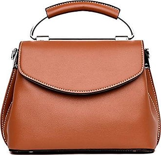 Retro Damen Handtasche Große Kapazität Echtes Leder Schultertasche Damen Top Griff Satchel Office Bag Totes,Green-22*12*20cm Hope