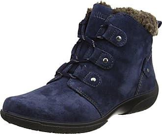 Urban Walk Valmy - Zapatos de cordones para mujer, color Blau - Bleu (Suède Night), talla 38