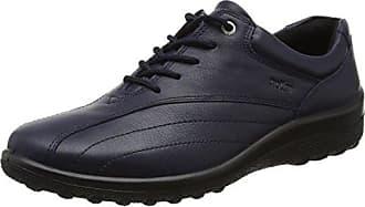 Hotter Tone EXF, Zapatos de Cordones Oxford Para Mujer, Brown (Dk Mink), 37 EU