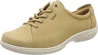 Hotter Tone, Zapatos de Cordones Oxford para Mujer, Beige (Soft Beige), 43 EU