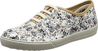 Hotter Mabel, Zapatos de Cordones Oxford para Mujer, Negro (Black Floral 086), 38.5 EU