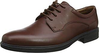 Control, Zapatos de Cordones Oxford para Hombre, Negro (Black 001), 41 EU Hotter