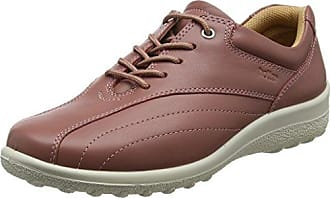 Tone, Zapatos de Cordones Oxford para Mujer, Rojo (Ruby 046), 36 EU Hotter