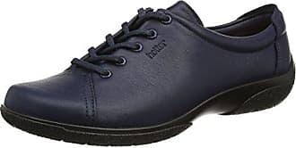Hotter Dew, Zapatos de Cordones Oxford para Mujer, Azul (Blue River 105), 41 EU