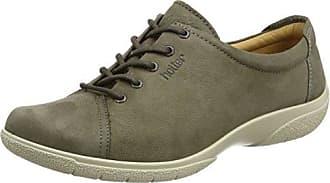 Hotter Tone GTX, Zapatos de Cordones Oxford Para Mujer, Gris (Gunmetal), 43 EU
