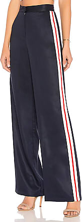 x REVOLVE Wide Leg Track Pants in Navy. - size M (also in L,S,XL,XS,XXS) House Of Harlow
