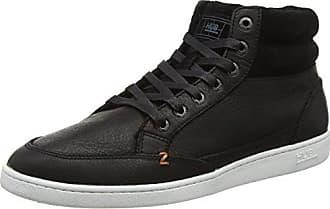 Hub HubAshbury 6/15 - Sneaker Uomo, Nero (Schwarz (Black/Black/Wht 090)), 40