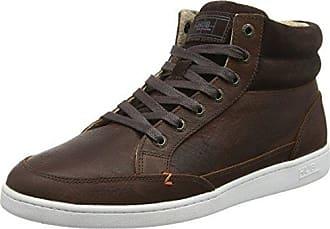 Hub Vermont L30 - Zapatos con Cordones de Cuero Mujer, Color Marrón, Talla 36