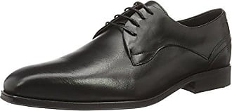 Hudson Livingston - Business de cuero hombre, color negro, talla 42