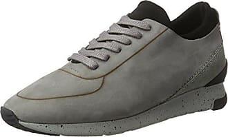 Hudson Pierre - Zapatillas de casa de cuero hombre, color marrón, talla 43