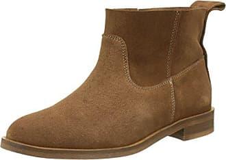 Atlas Suede, Boots Classiques Femme - Noir (Noir), 39 EUHudson