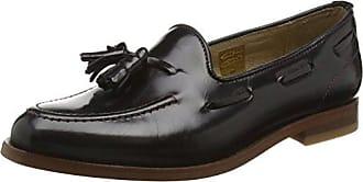 Olivia Hi Shine, Zapatos de Cordones Derby para Mujer, Negro, 39 EU Hudson