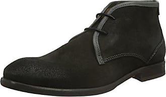 Base London zapato Hombre Cordones Cuero Hi Shine Navy_39