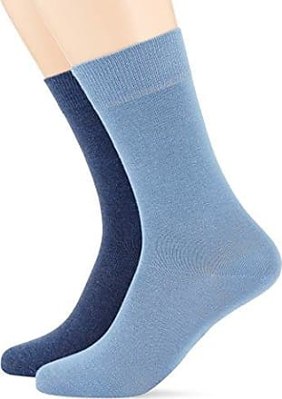 Mens Pack of 2 Calf Socks Hudson