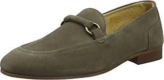 Wooten 4519060_Gris (Grey) - Zapatos de cordones de ante para mujer, color gris, talla 39 Hudson