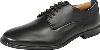 Chaussures En Dentelle Veau Noir Osney Hudson